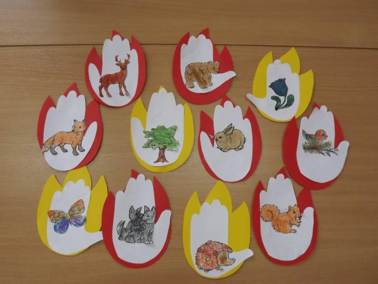 берегите лес от пожара картинки для детей