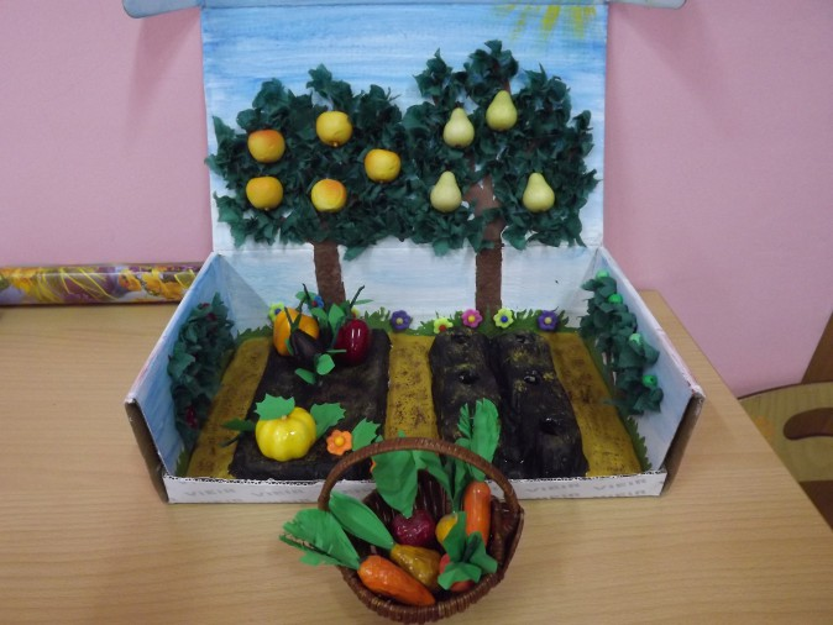 Мастер класс сад огород
