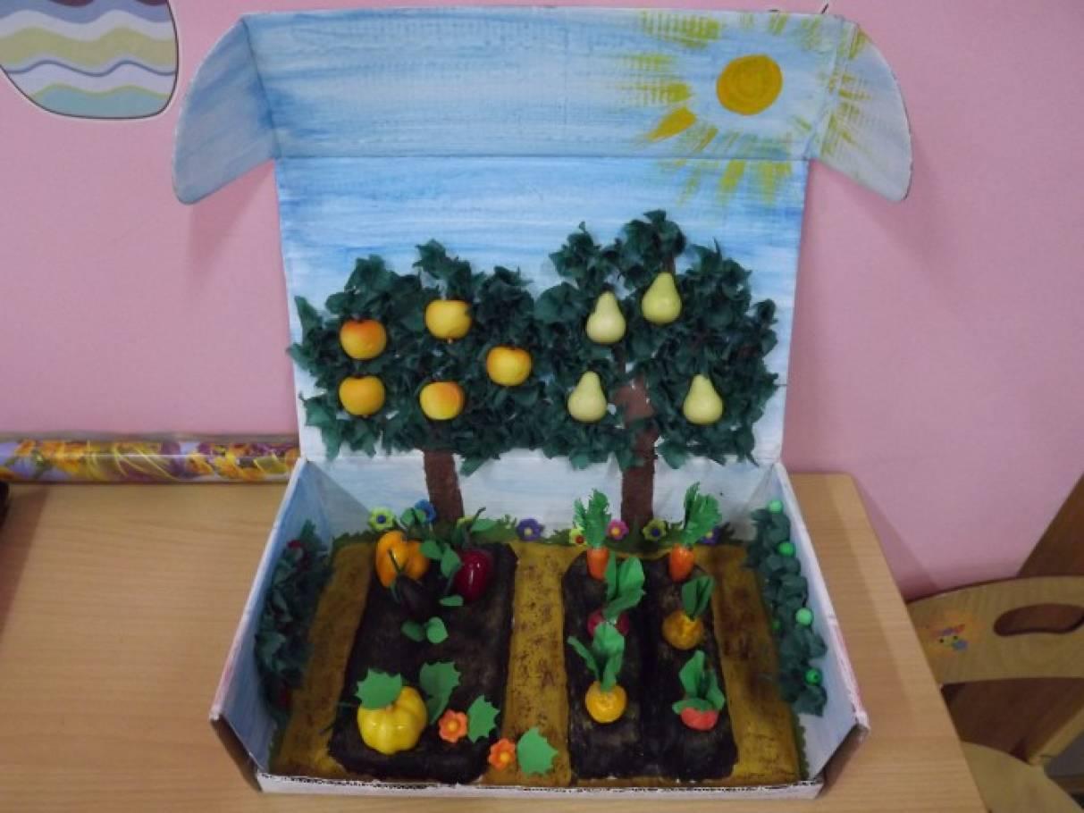 Поделки для детского сада и огорода своими руками