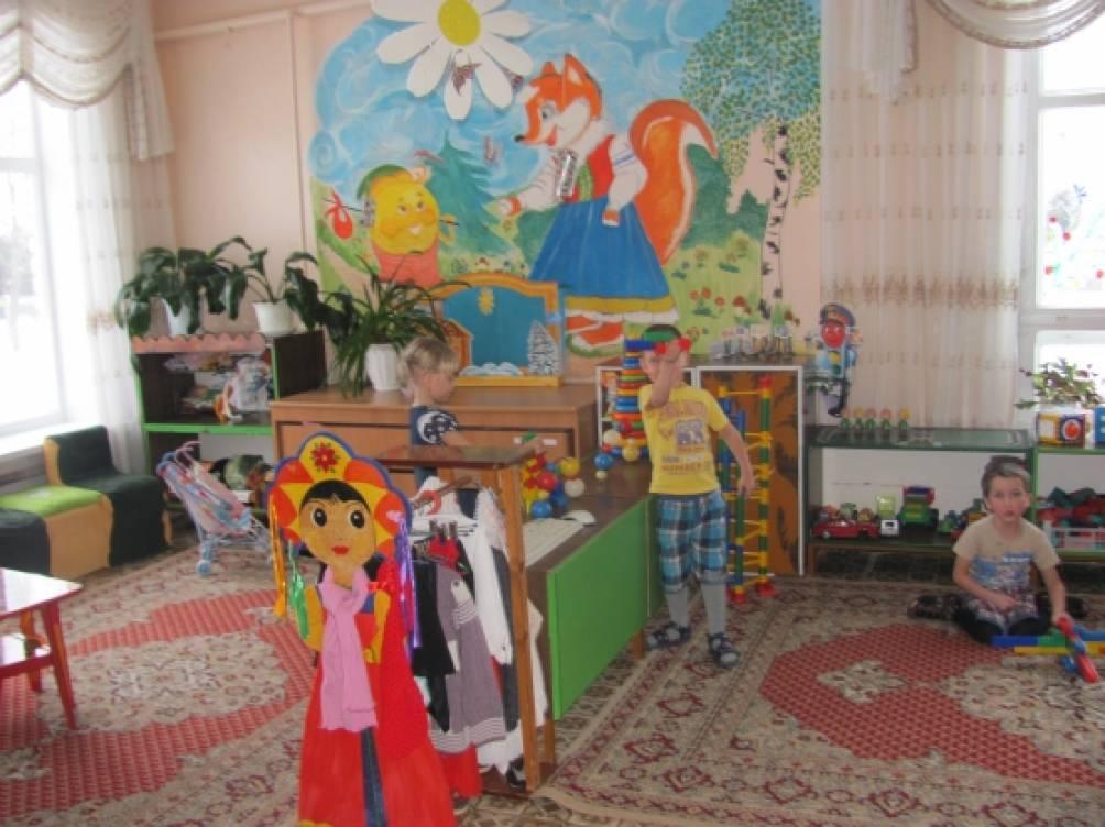 В детском саду детский сад ждет ребят