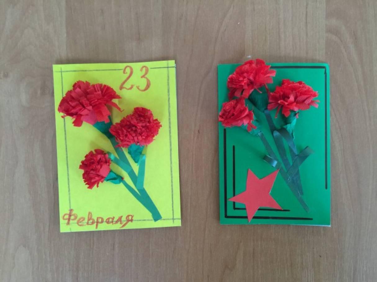 Открытки к 23 февраля в детском саду старшая, поздравлением праздника
