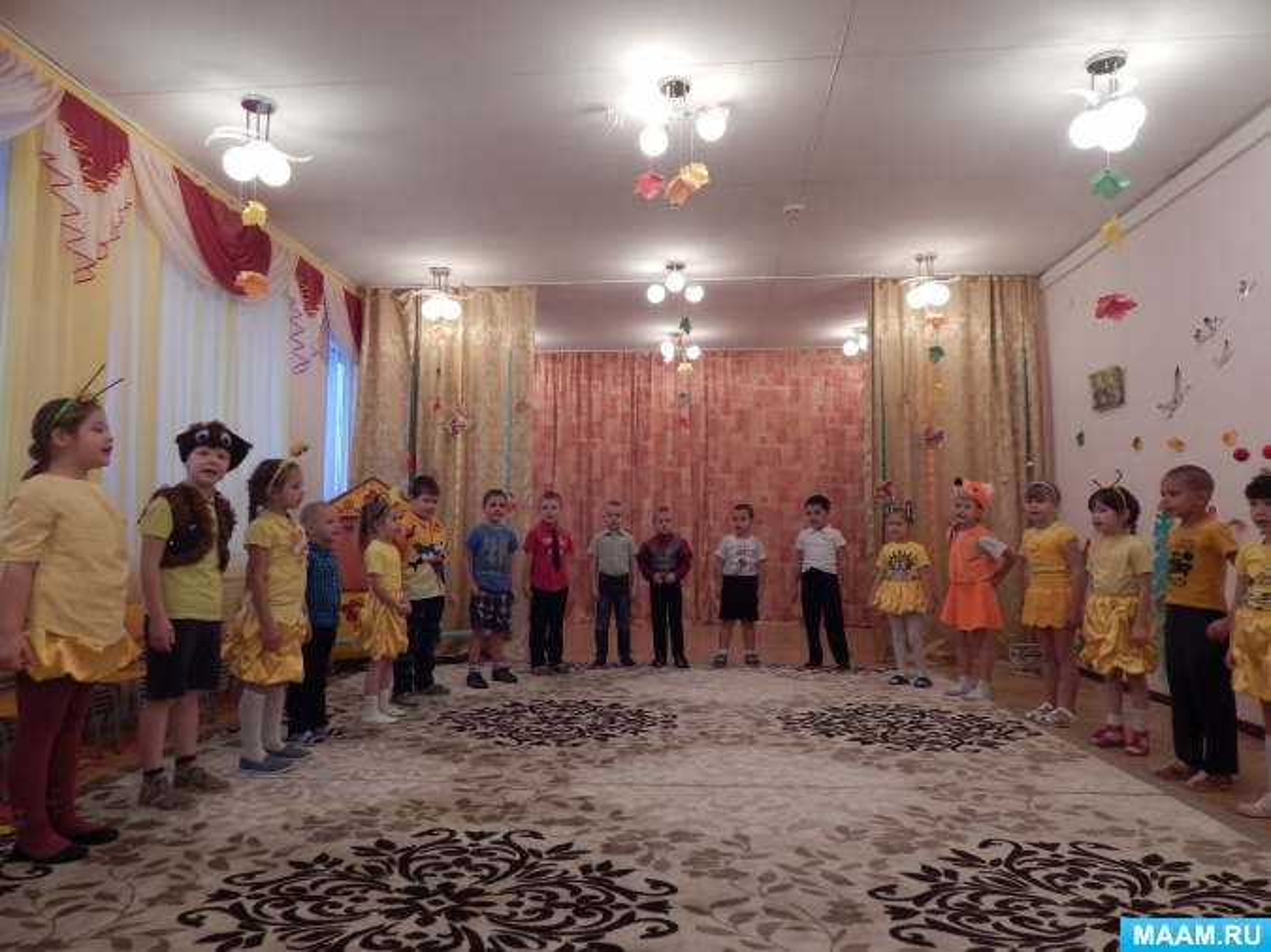 Музыкальное поздравление родителей на выпускной в детском саду