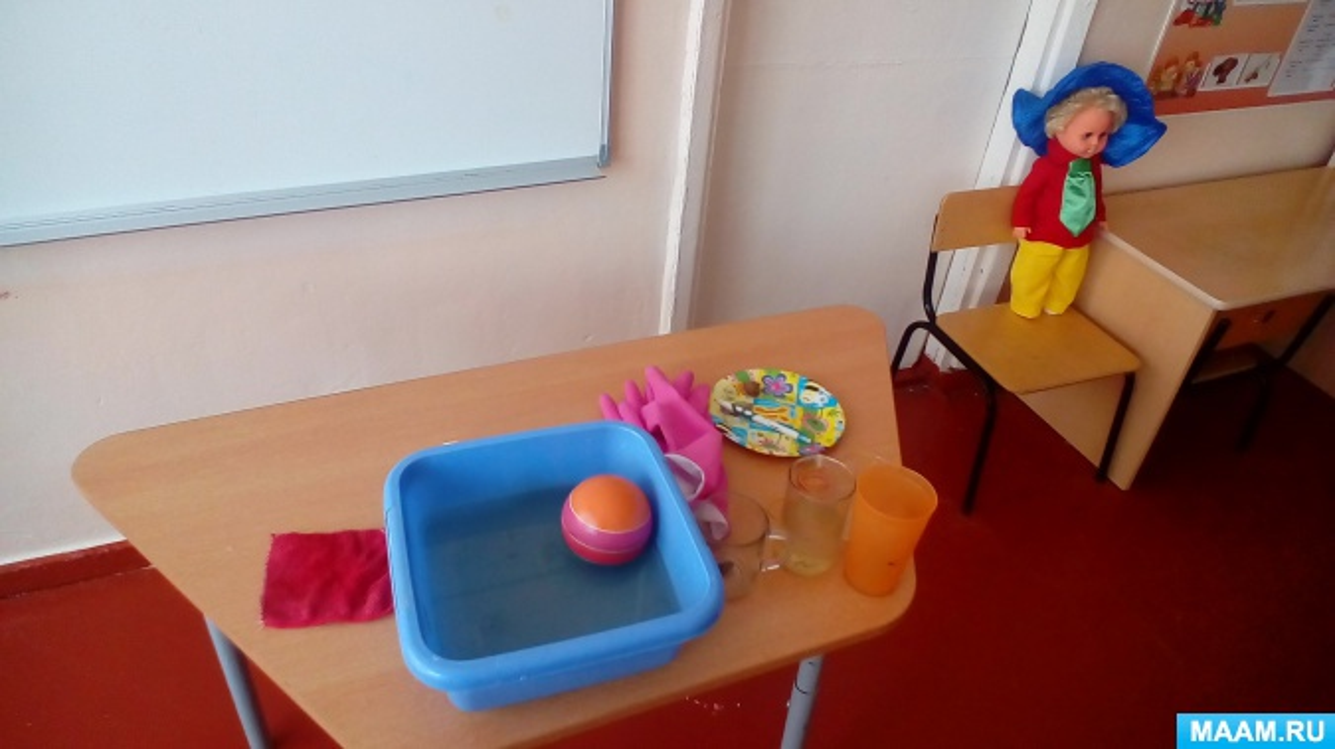 Конспект итогового занятия по экспериментированию в средней группе «Свойства стекла, резины и пластмассы»