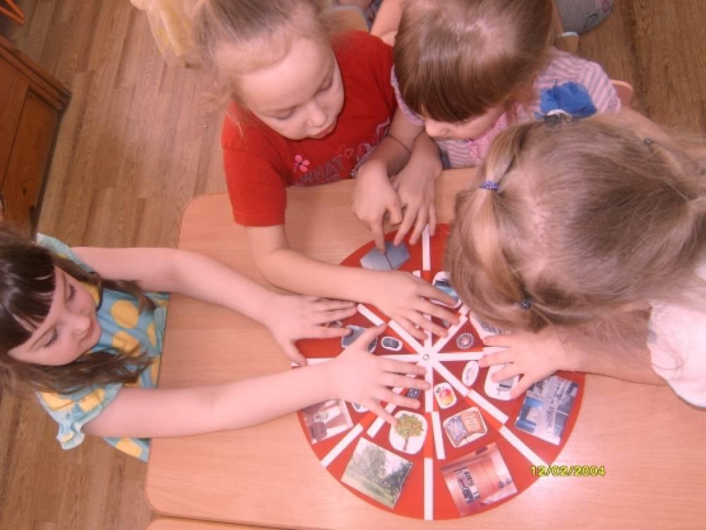 Игры с кругами Луллия как способ познания дошкольниками окружающего мира