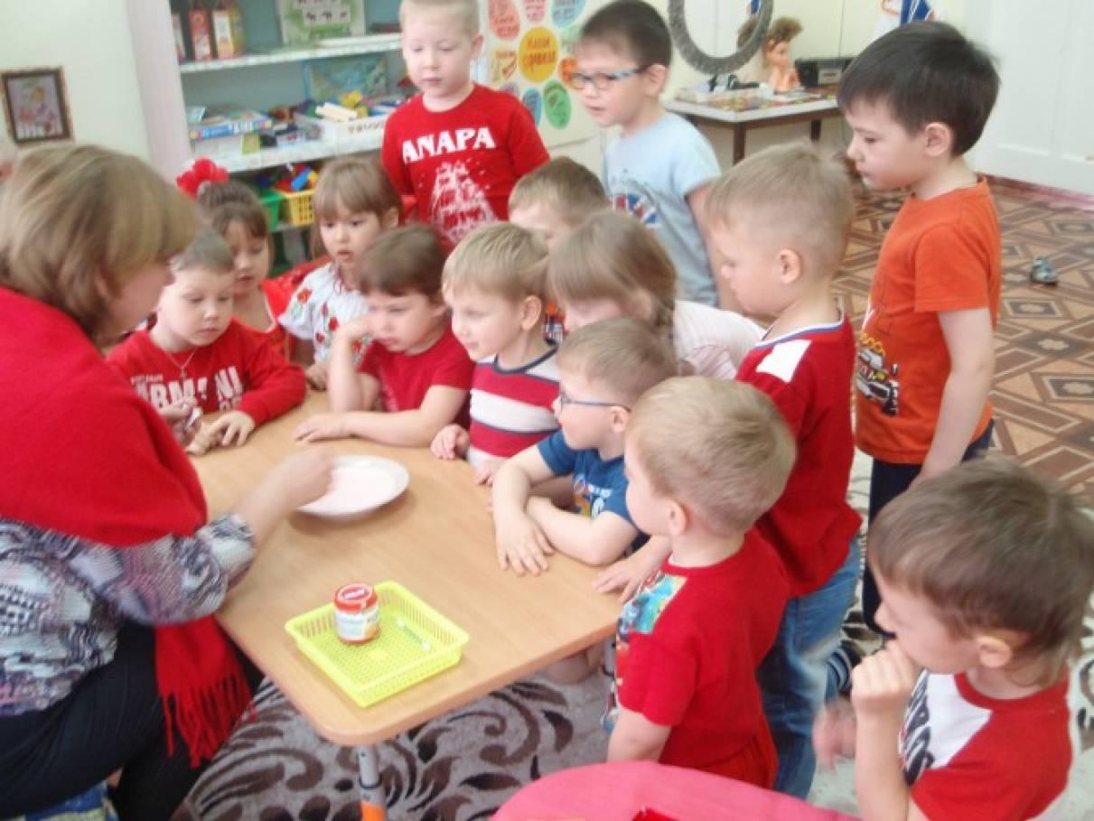 знакомство дошкольников с человеком