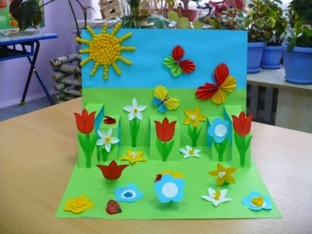 Поделка в детский сад на тему весна своими 705