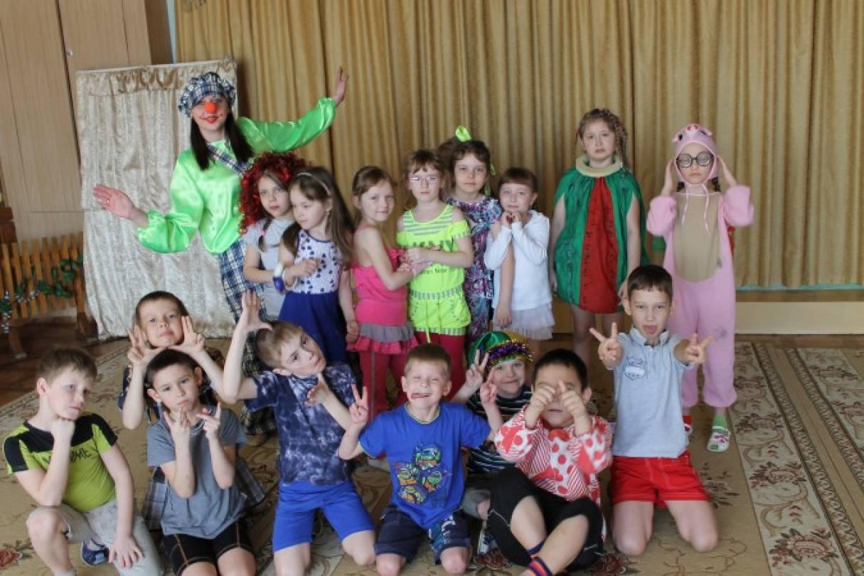 Сценарий развлечения в подготовительной к школе группе «Веселый день, грустить нам лень!»