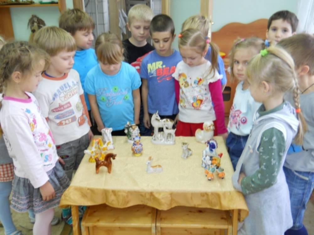 знакомство с искусством в дет саду