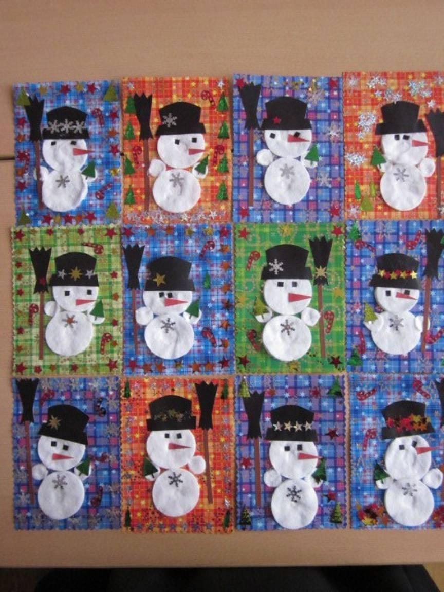 «Снеговик-почтовик». Фотоотчет новогоднего праздника в старшей разновозрастной группе