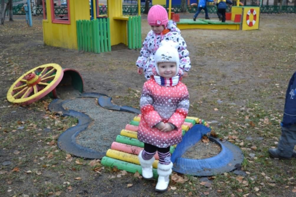 Мостики в детском саду