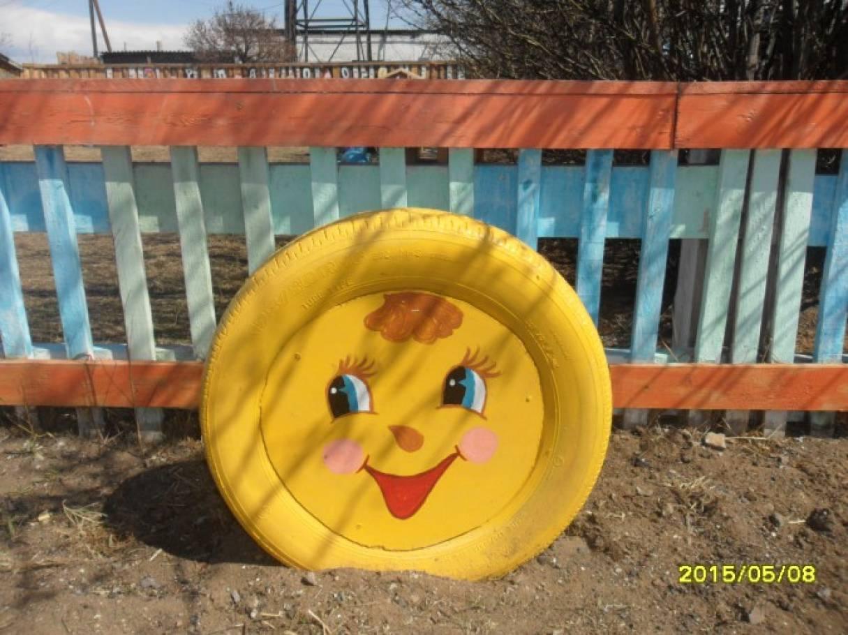 Колобок для детской площадки