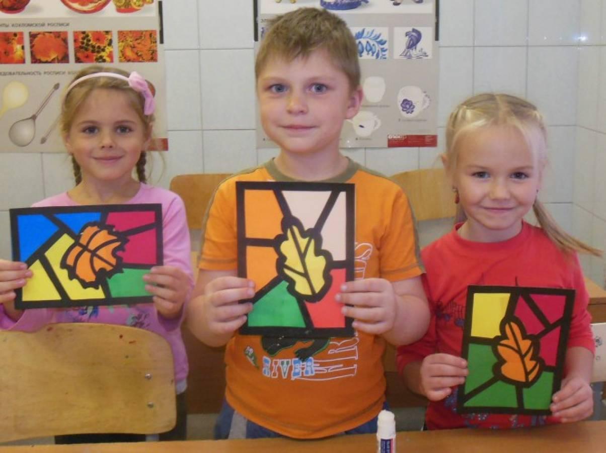 Конспект мастер класс с детьми