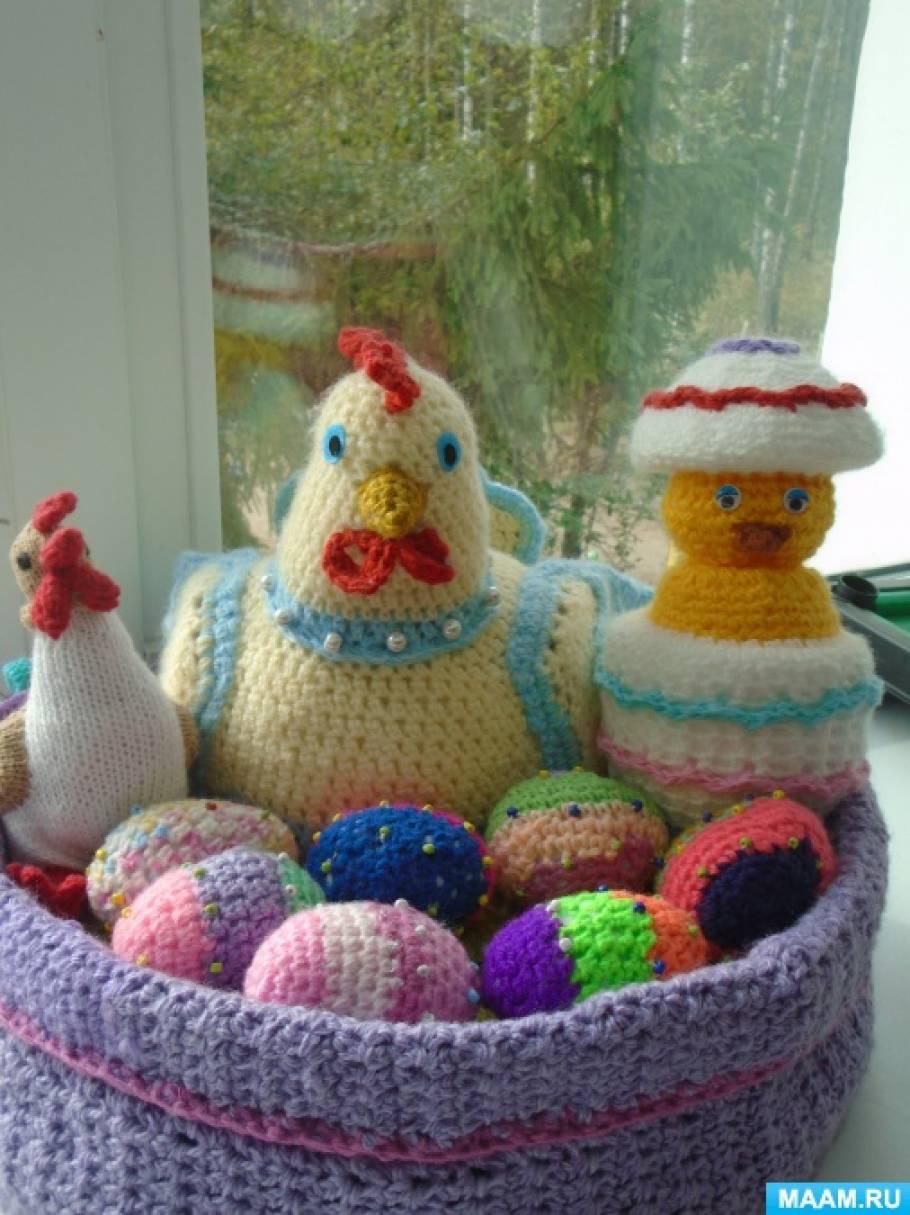 Вязаные игрушки и пособия для детей. Схемы и описания для ...