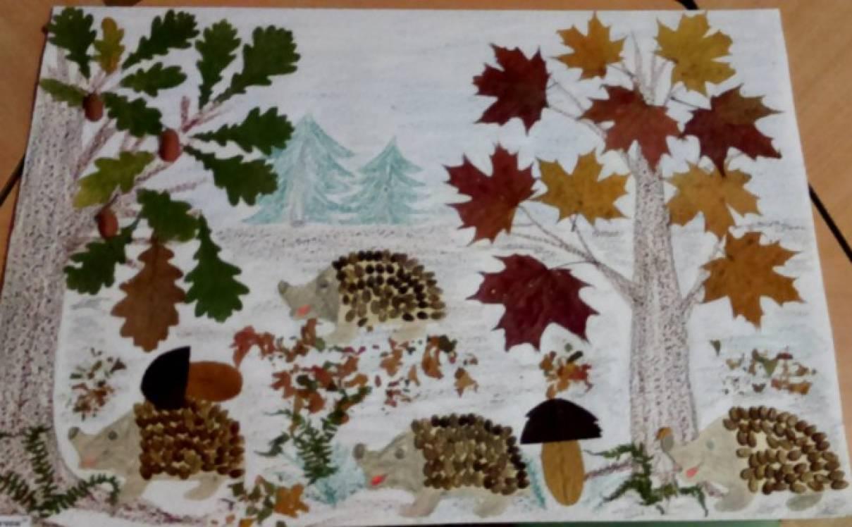«Уж небо осенью дышало…» Совместная деятельность педагога с детьми и совместная деятельность родителей и детей (фотоотчет)
