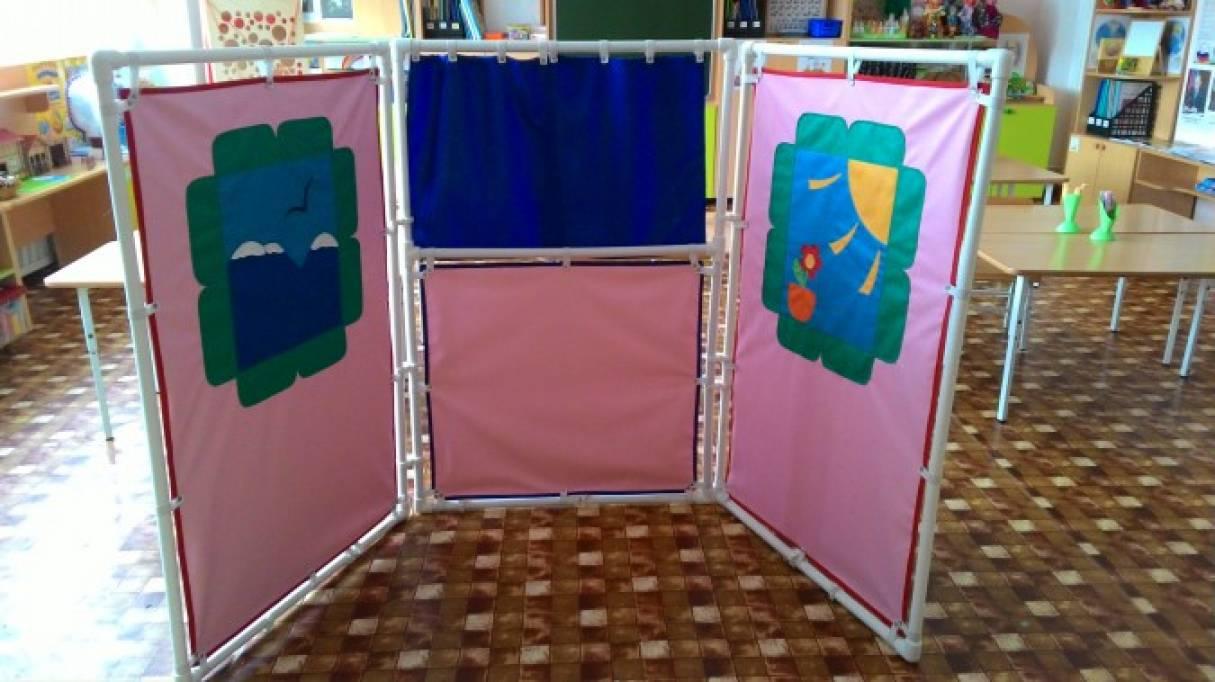 Ширма уголок уединения в детском саду своими руками 39