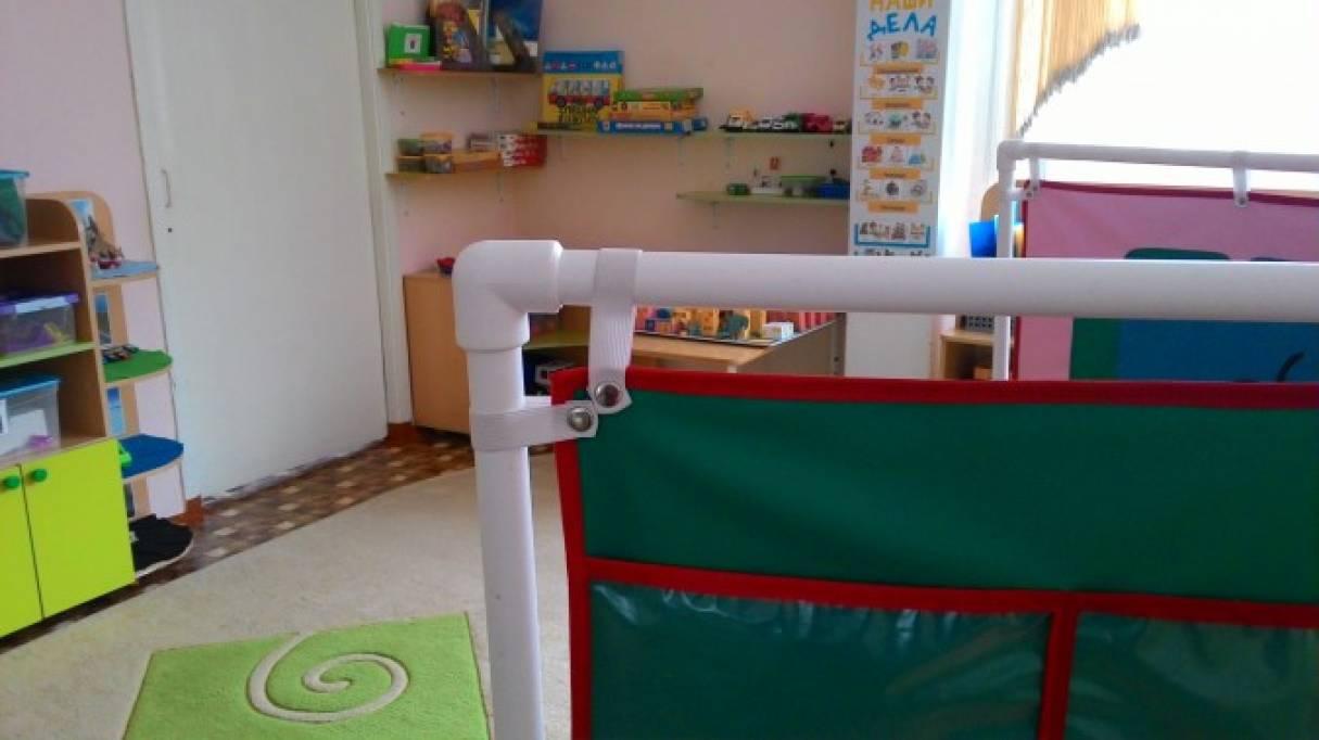 Ширма из пластиковых труб для детского сада своими руками фото пошагово 32