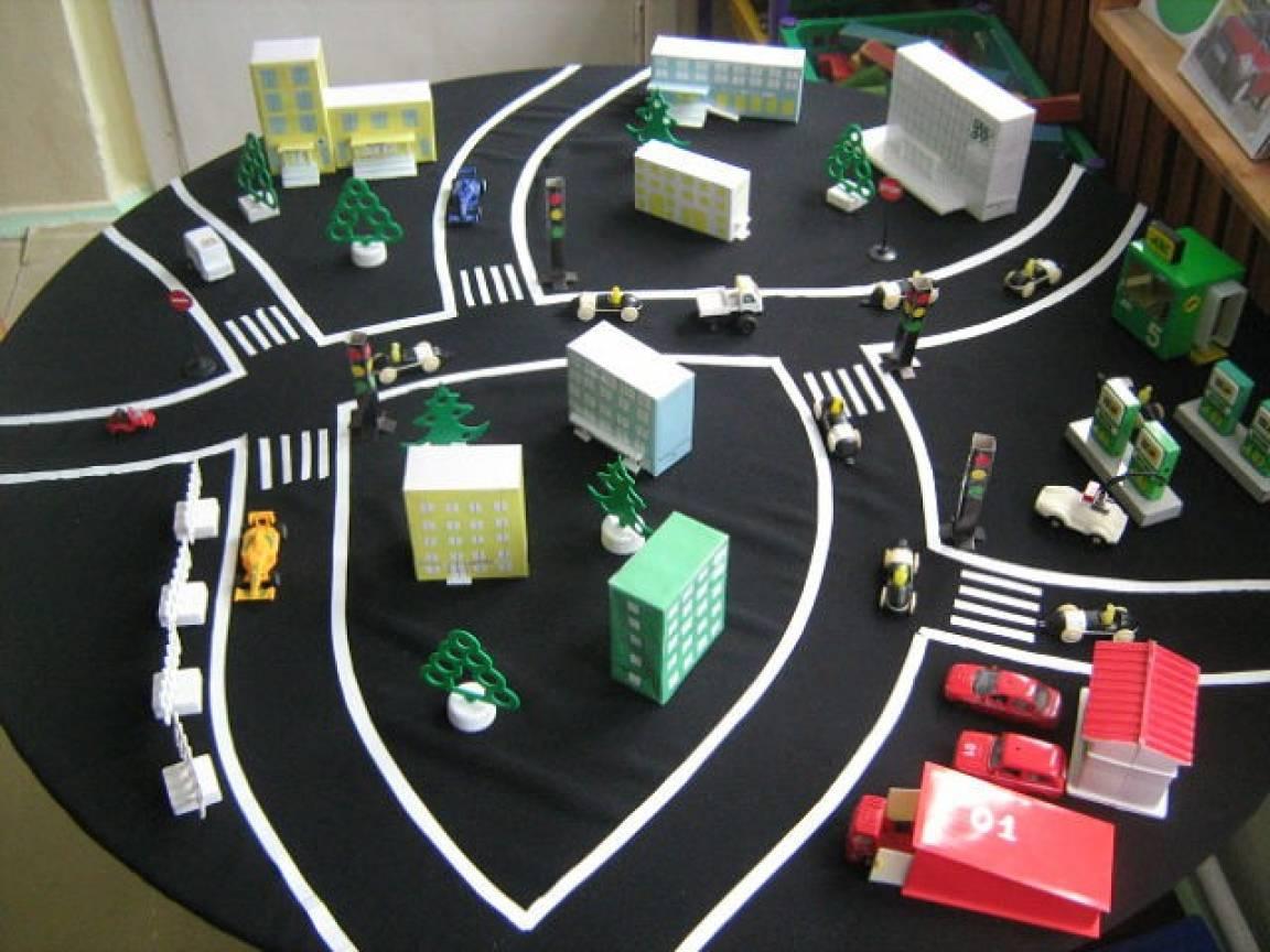 Пешеходный переход своими руками для детского сада 99