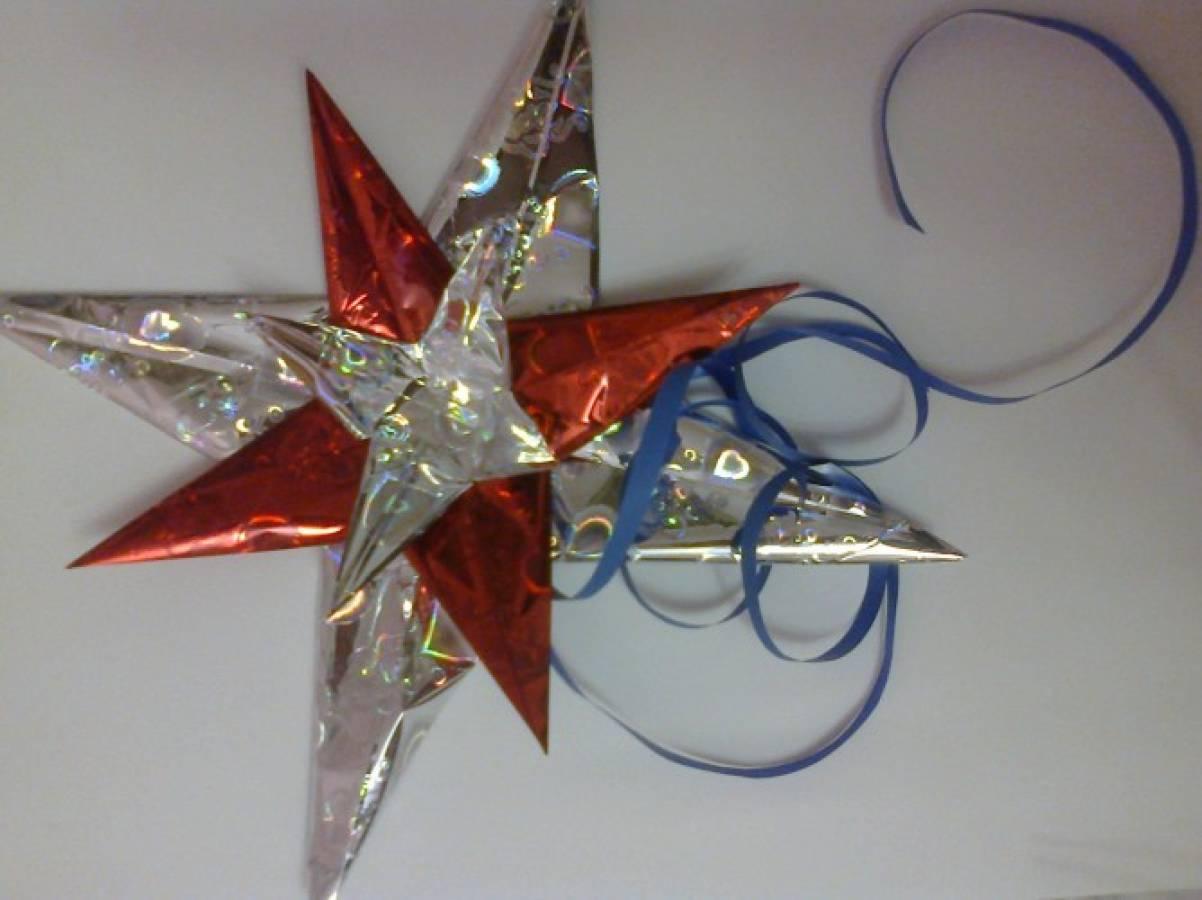 Как сделать чтобы рождественская звезда 996
