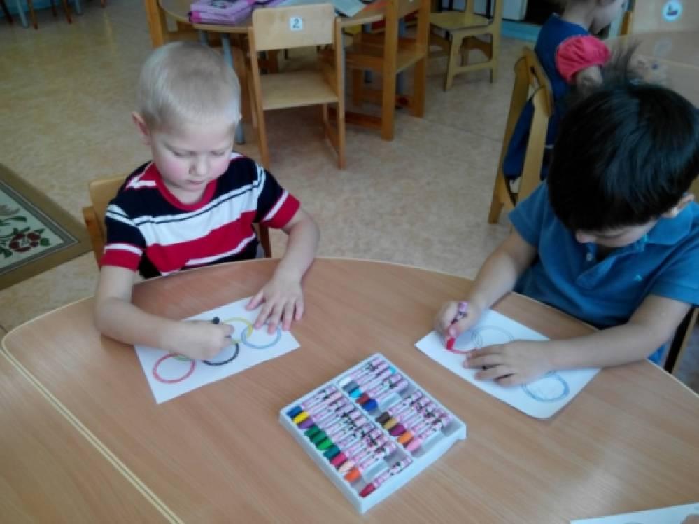 беседа знакомство с детьми