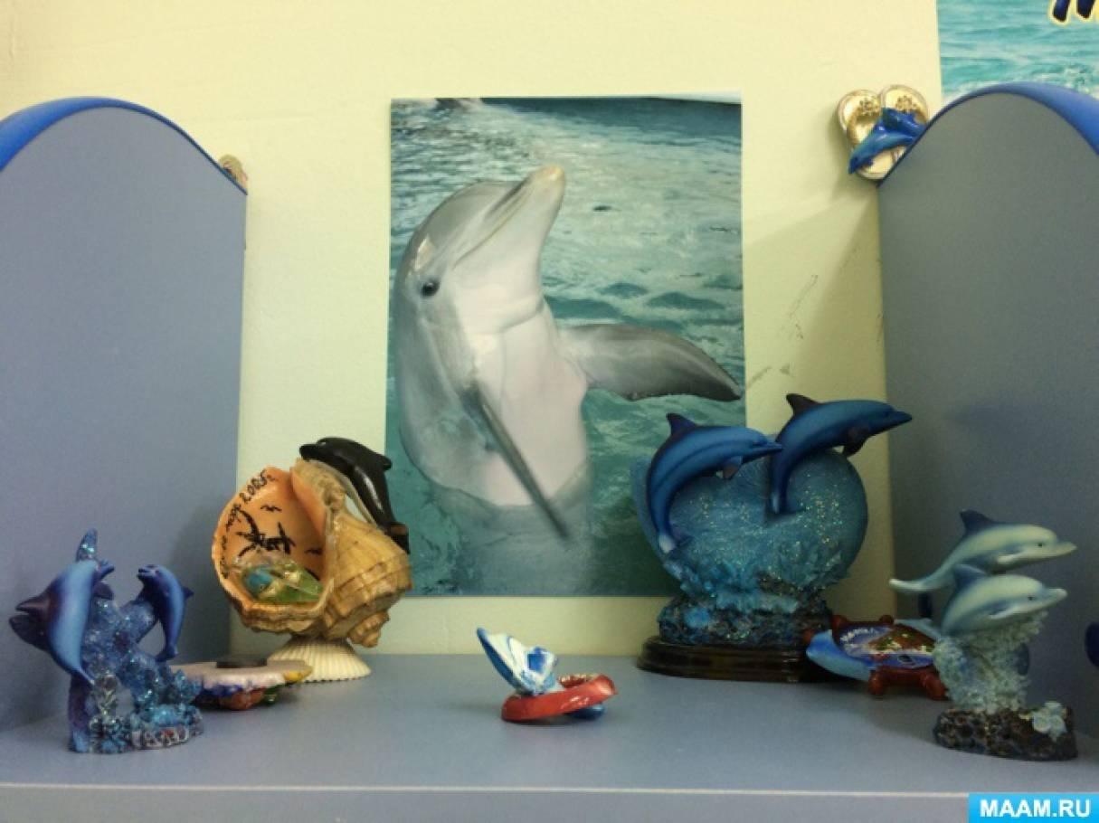 Образовательная среда в группе «Мини-музей дельфинов»