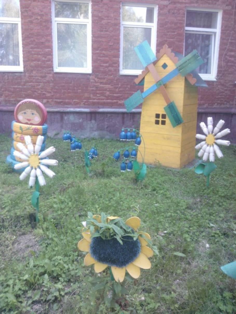 Благоустройство территории детского сада.