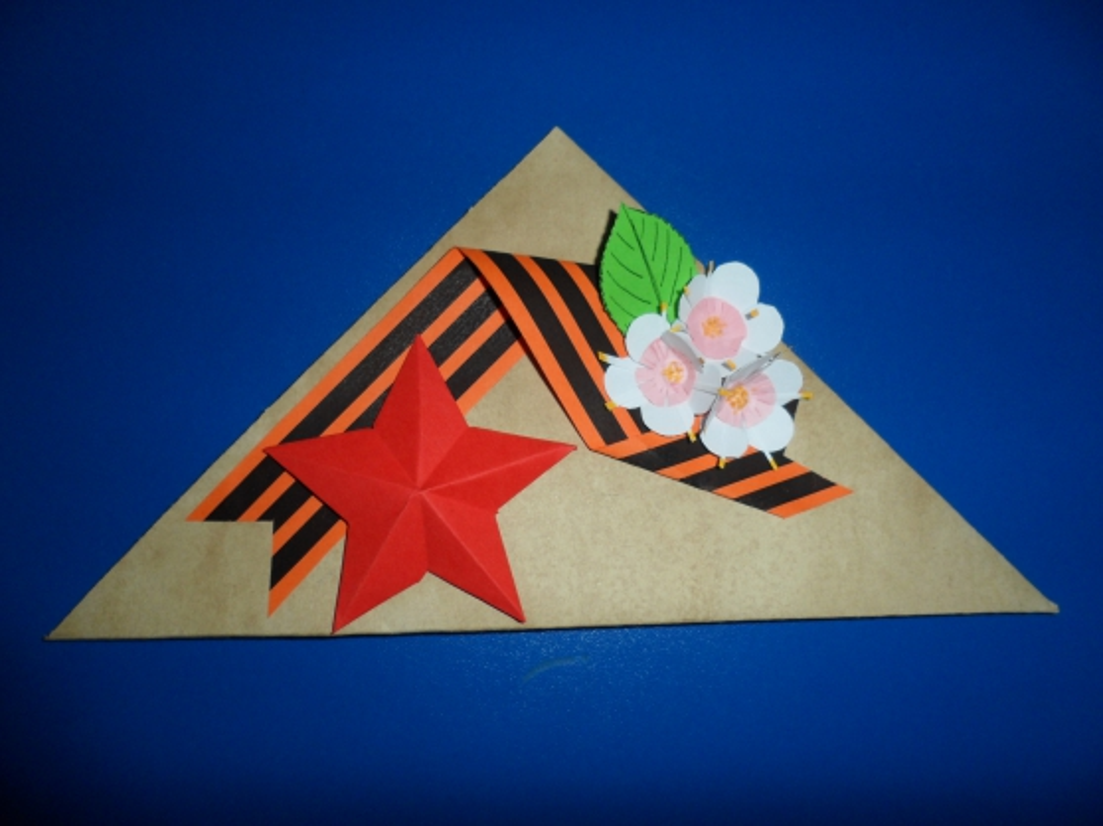 люстры открытки треугольники к 9 мая своими руками этого