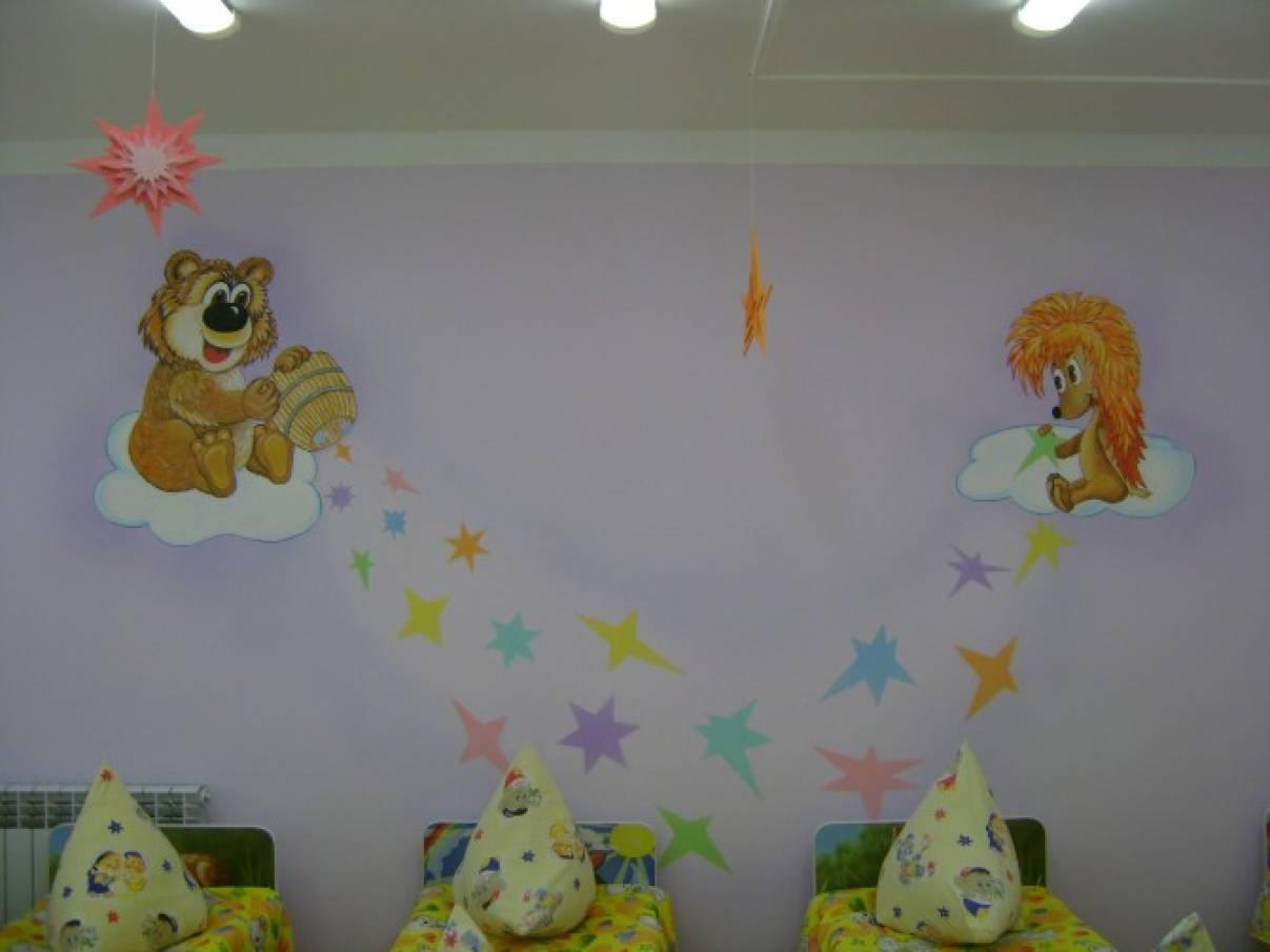 картинки спальни для детского сада