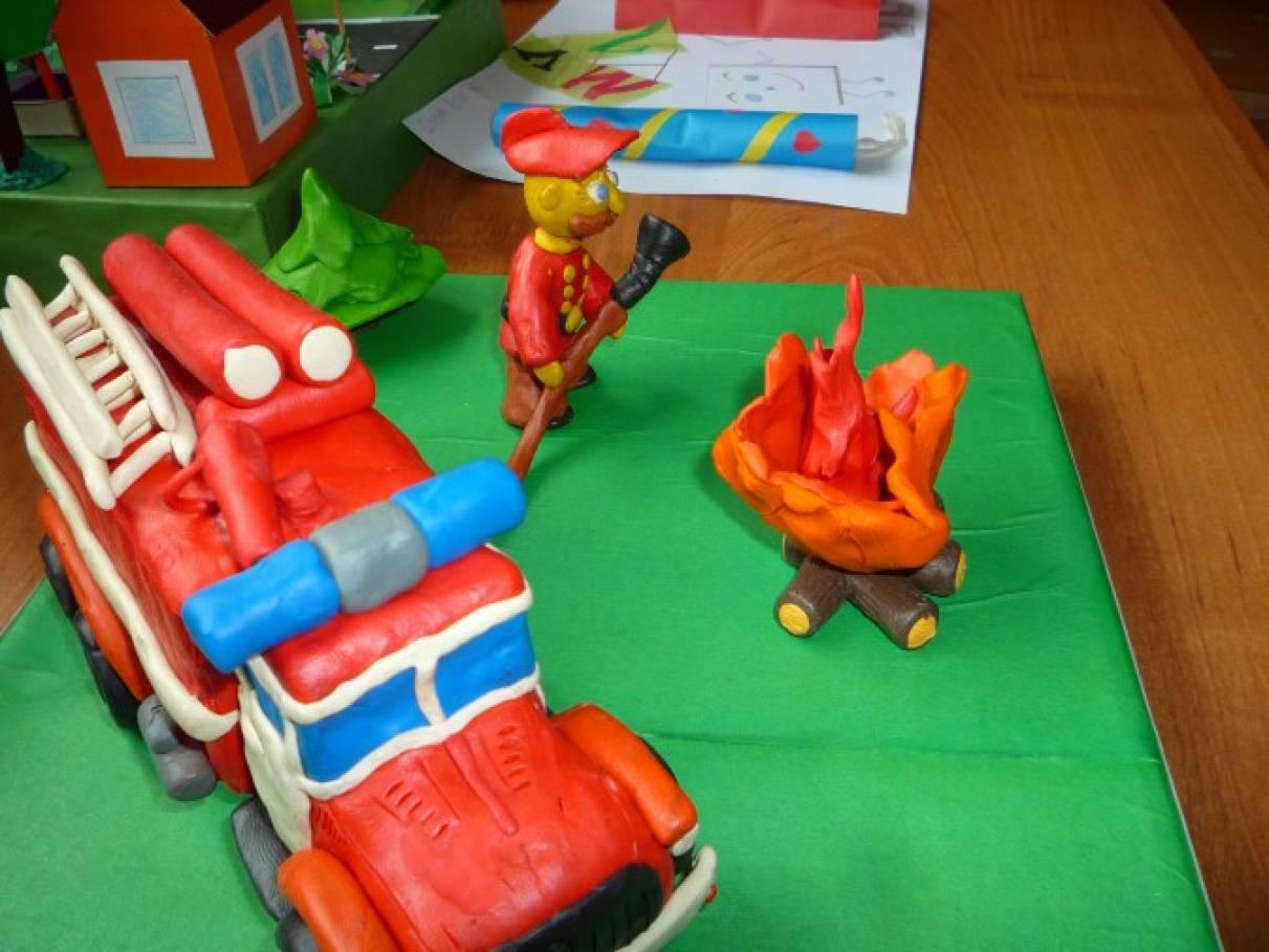 Поделка по пожарной безопасности своими руками в детский сад 32