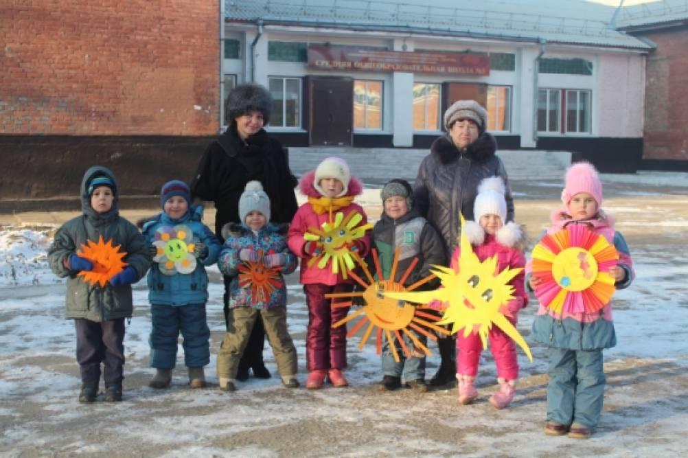 Традиционная встреча дошкольников и школьных друзей
