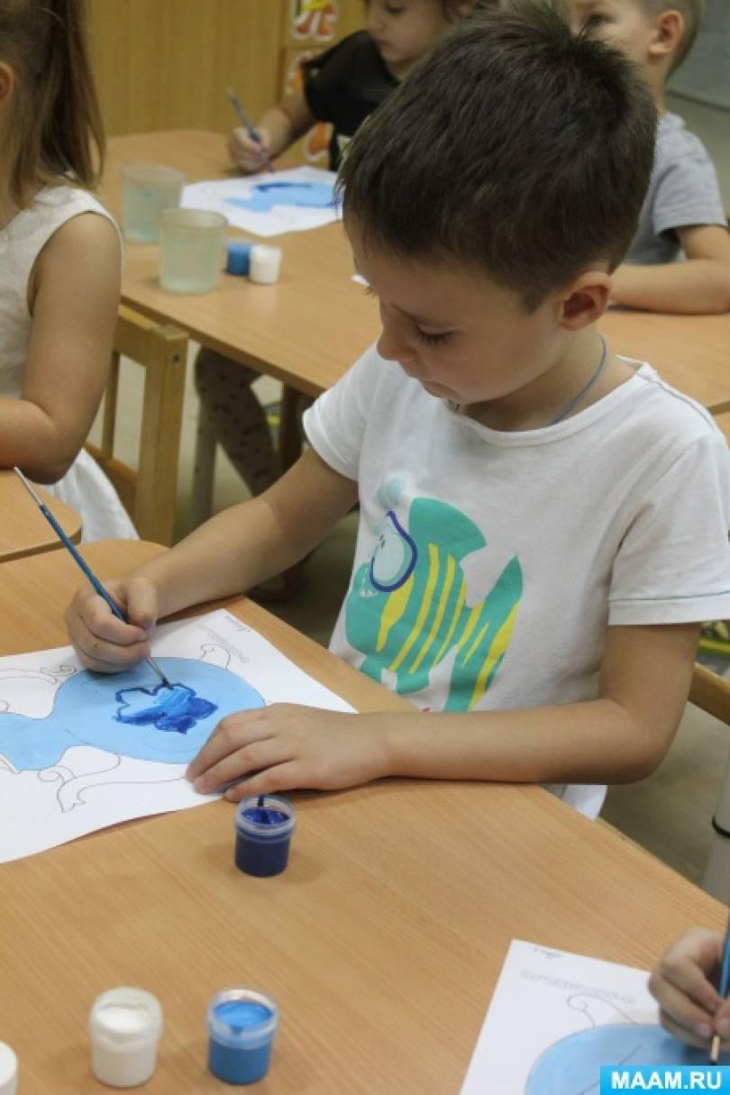 конспект знакомство детей с искусством