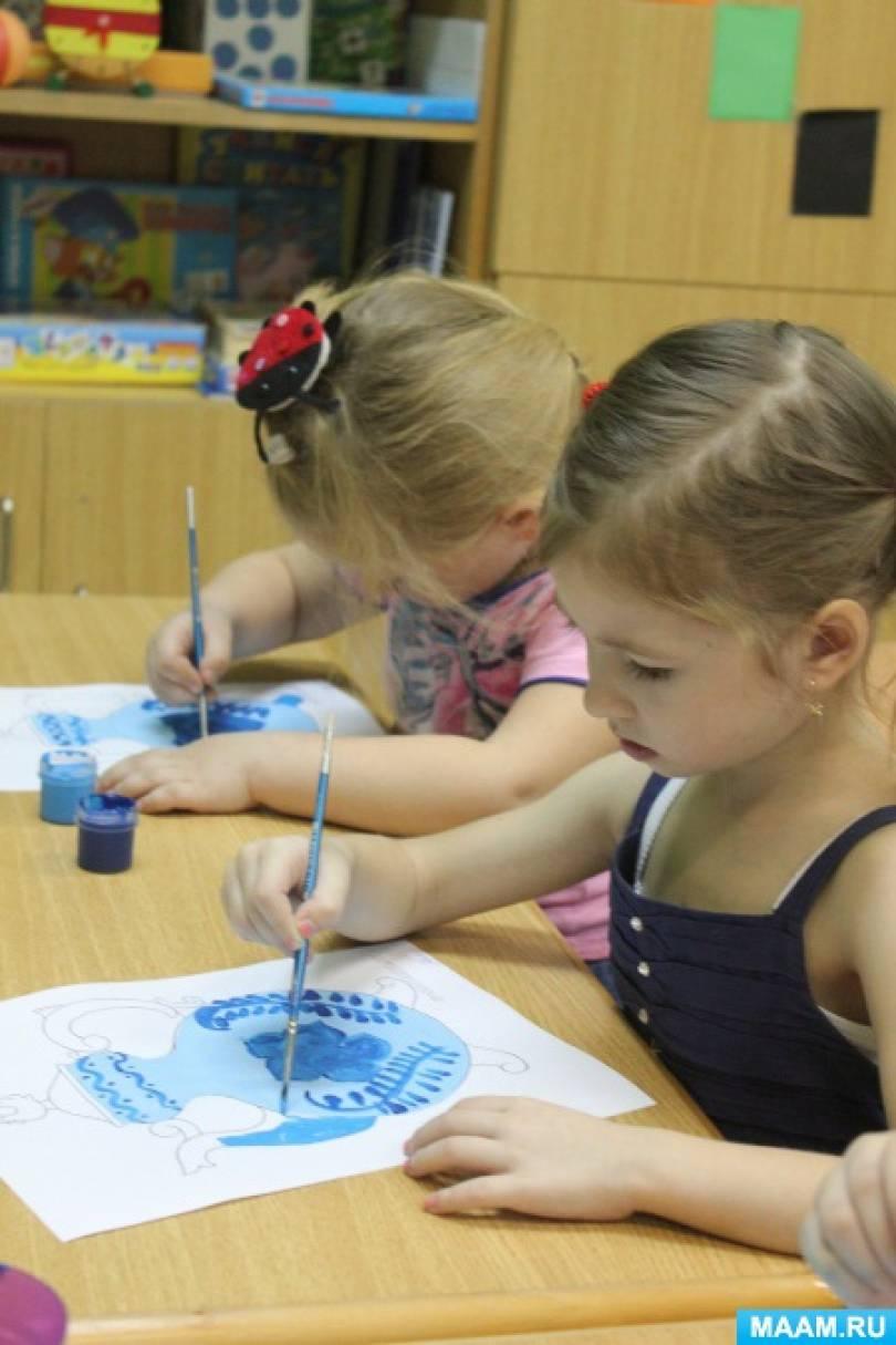 знакомство с традициями детского сада