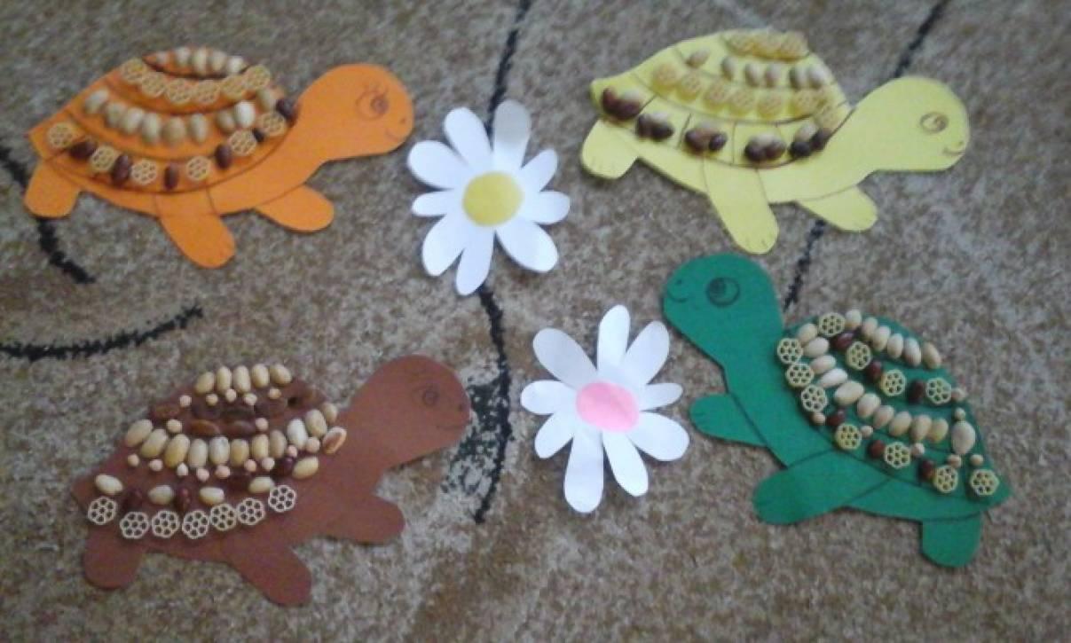 Поделки черепаха для детей