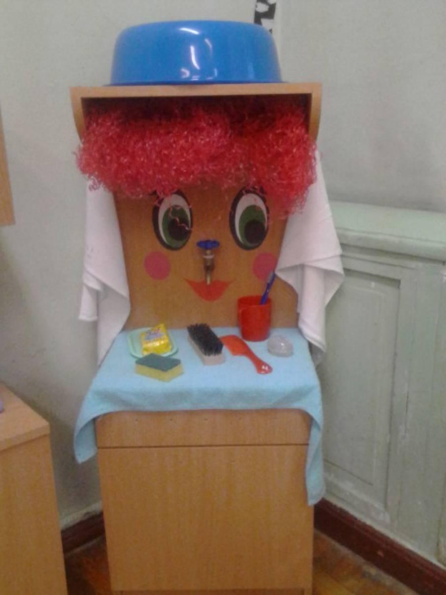 Мойдодыр поделка своими руками для детского сада 53