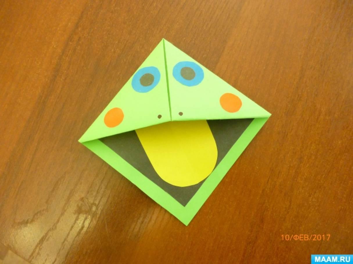 Конспект занятия по конструированию из бумаги «Закладка для книг»— с пошаговым показам её изготовления