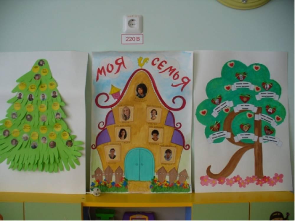 Как сделать родословное дерево в детский сад