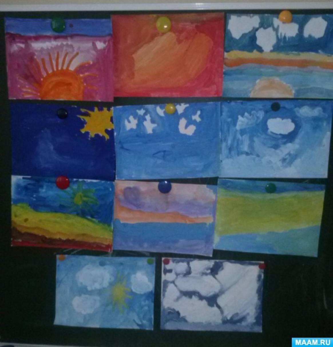 Практико-значимый проект «Прогулки по дням творения. Прогулка вторая. Небо»