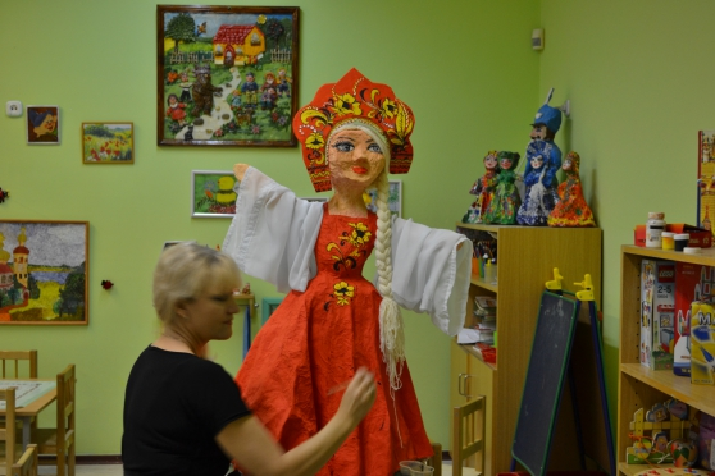 Поделки детей русские традиции