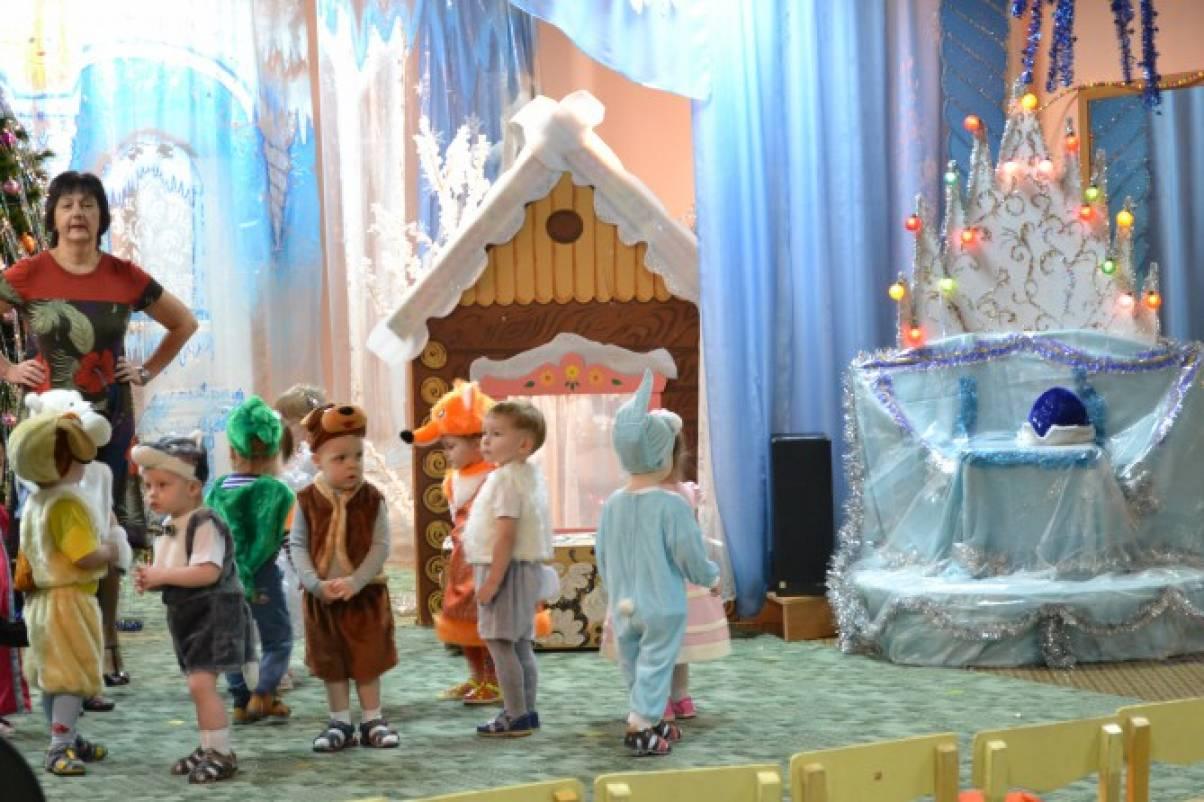 Сценарий утренника к новому году для детей