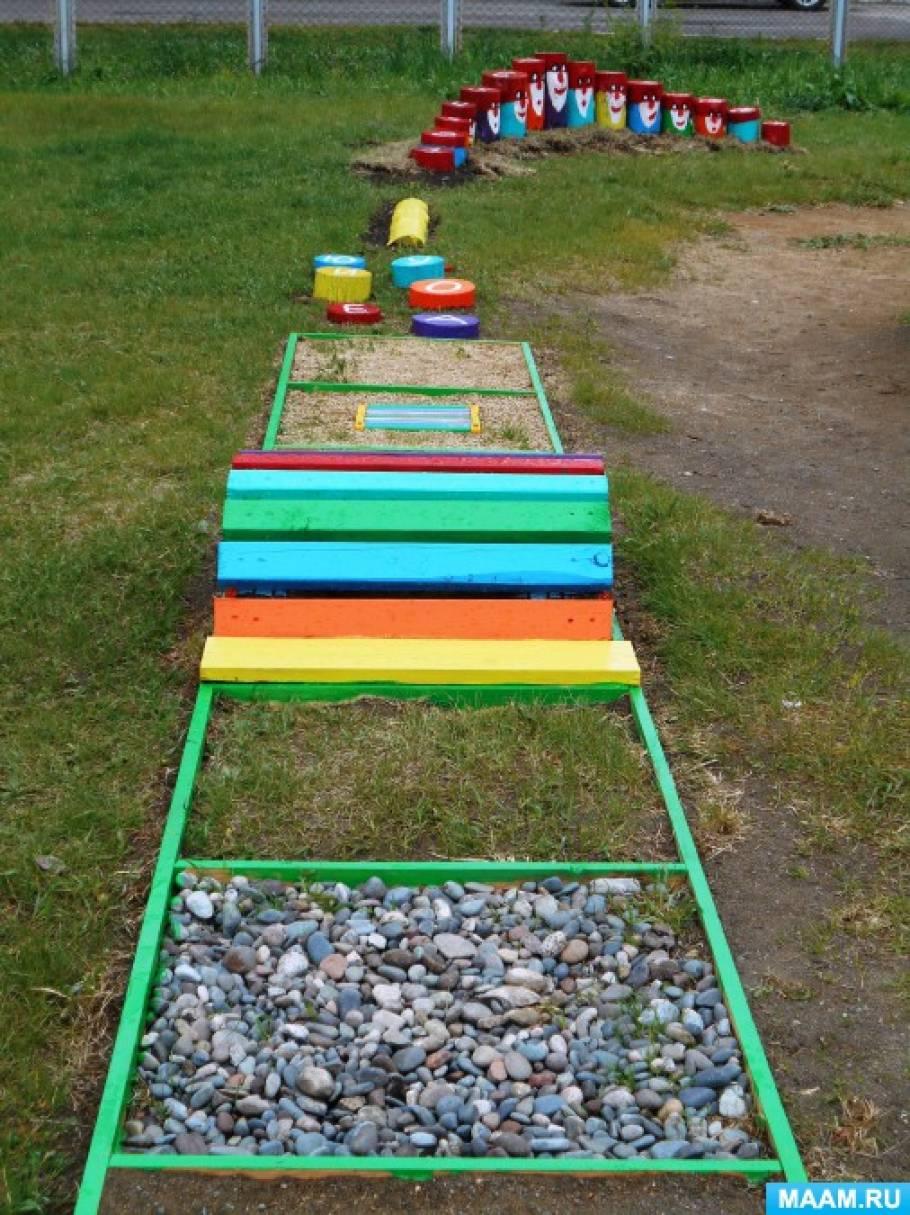 Уголок сада на участке детского сада своими руками 8