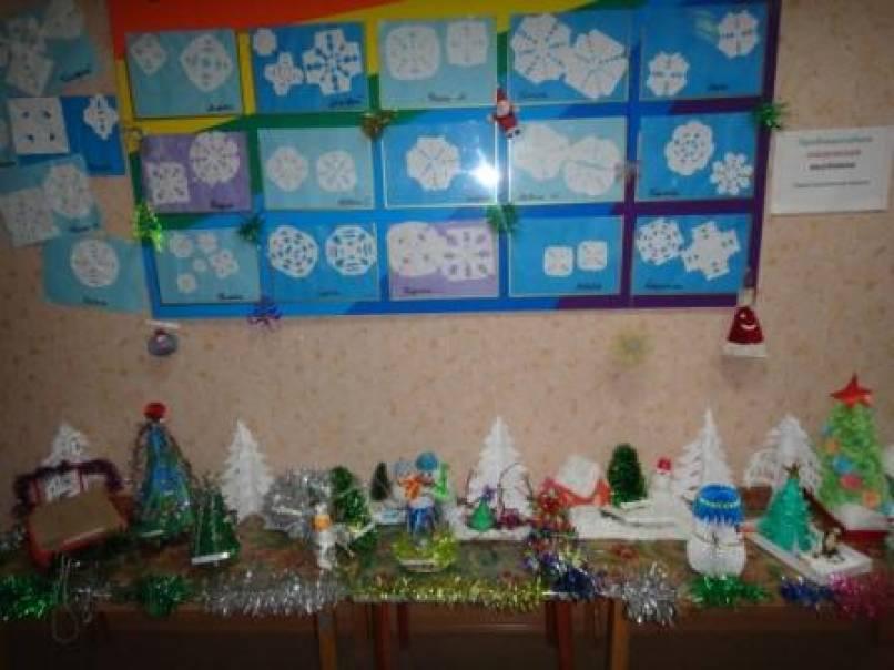 Новогодние выставки поделок детей и родителей
