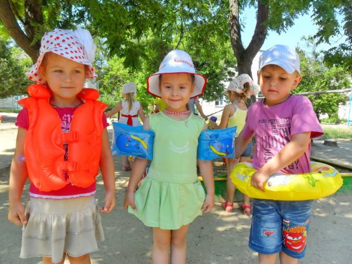 «Лето. Море. О безопасном поведении на воде». Инструкция для дошкольников по безопасности на воде