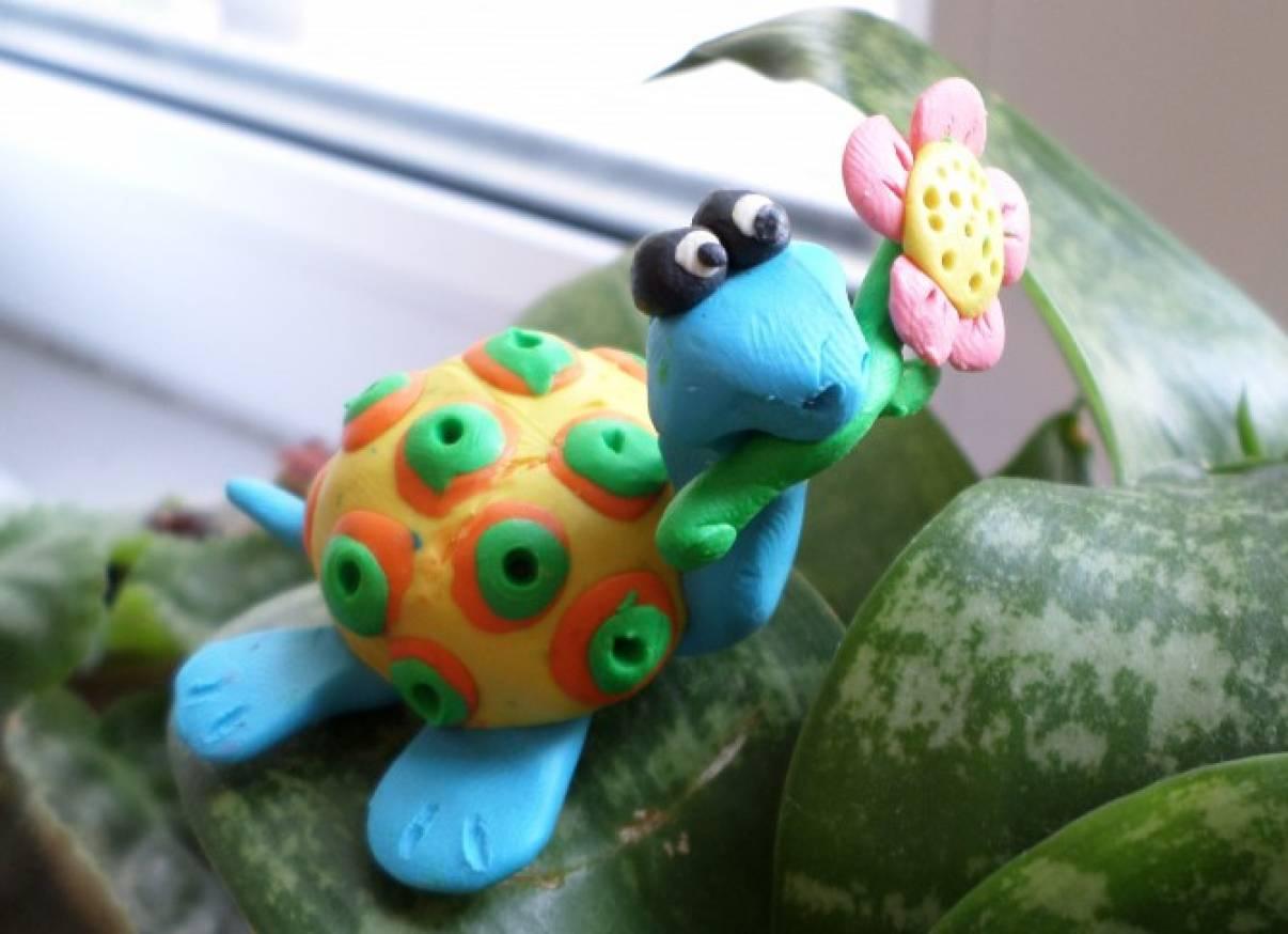 Мастер-класс по лепке из пластилина «Черепаха Матильда»