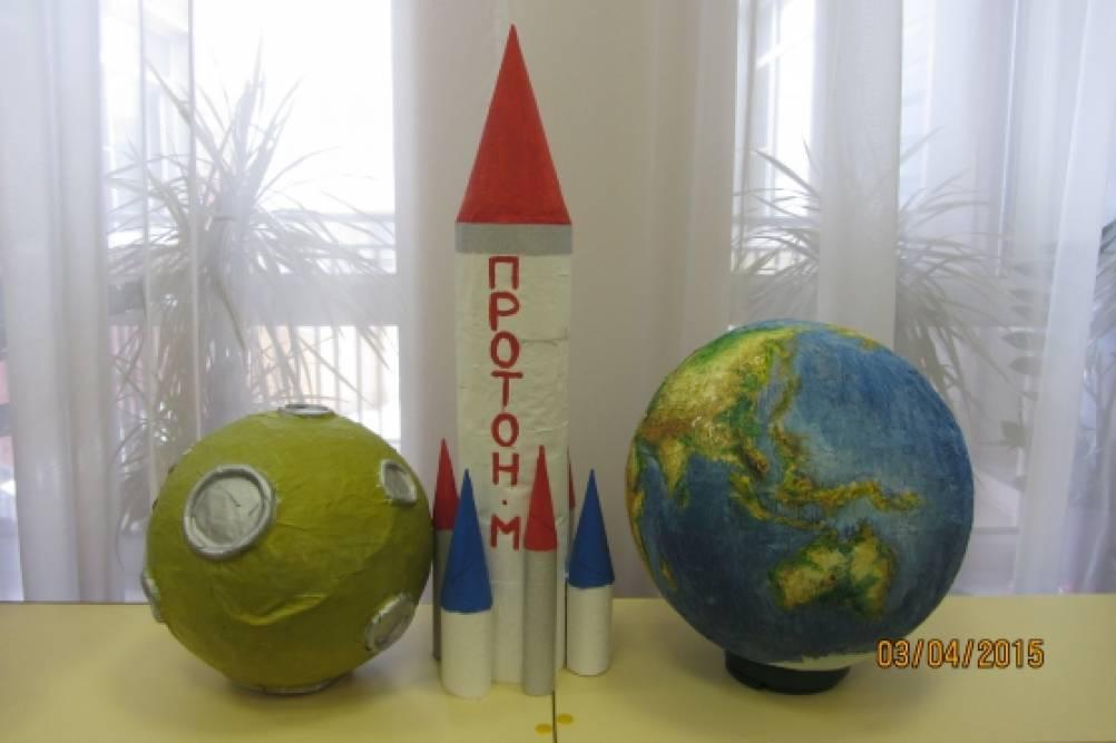 Сделать луну своими руками из бумаги и шарика