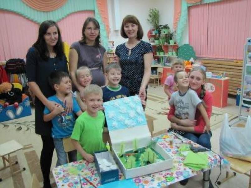 Мастер-класс по изготовлению макета детского сада
