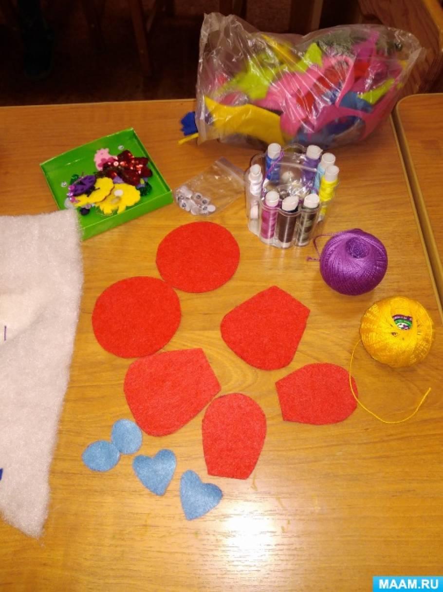 Мастер-класс «Новогодняя игрушка своими руками» для родителей и детей старшей группы