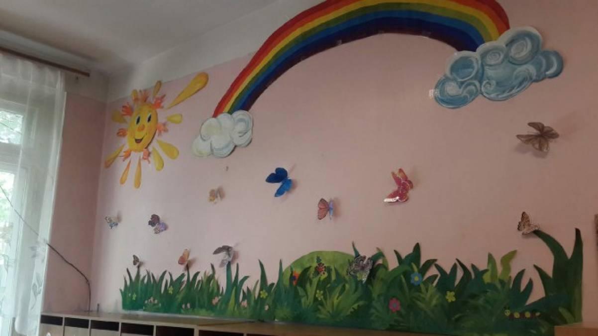 Оформление своими руками стен в группе детского сада