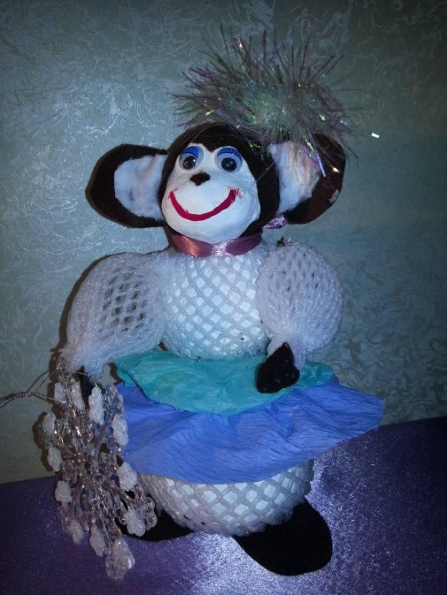 139Поделка обезьянка  в детский сад