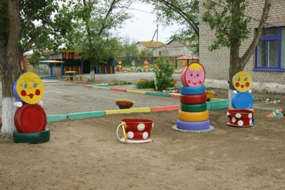 Мой любимый детский сад. Оформление участков