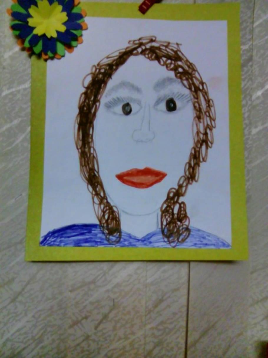 Конспект занятия по рисованию в средней группе семейный портрет
