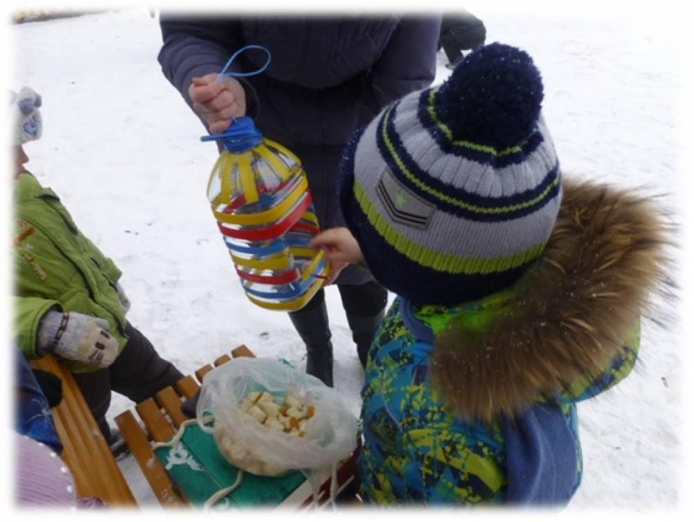 Картинки корм для зимующих птичек для детей